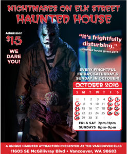 All events for Nightmares On Elk Street – Events