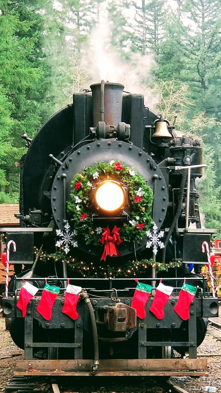 Christmas Tree Train.Christmas Tree Train Rides Events