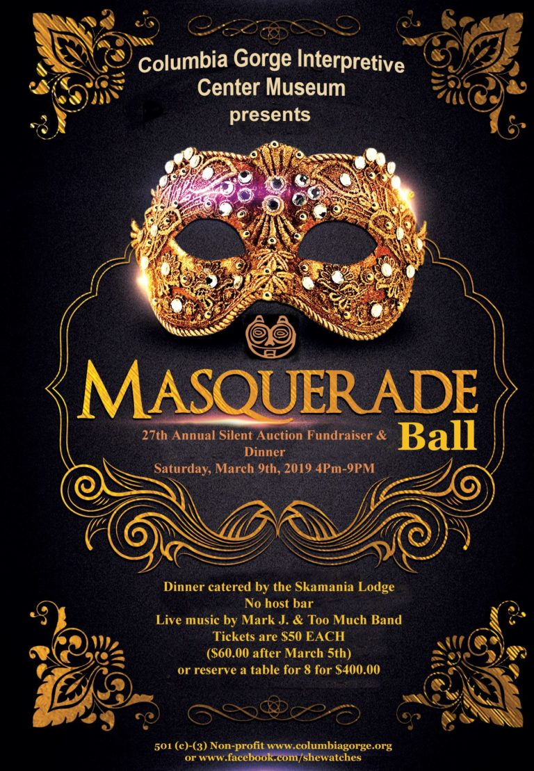 27th annual 'Masquerade Ball' fundraiser at Columbia Gorge