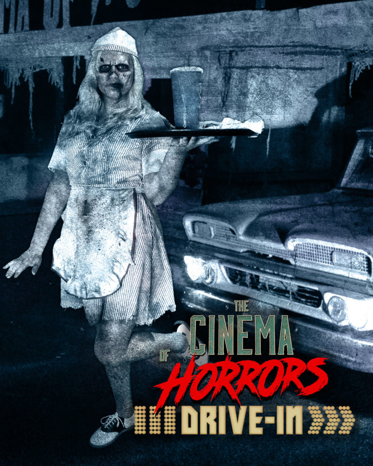 Clark County Halloween 2020 Drive in Horror Movies & Live Monsters at Clark County Event